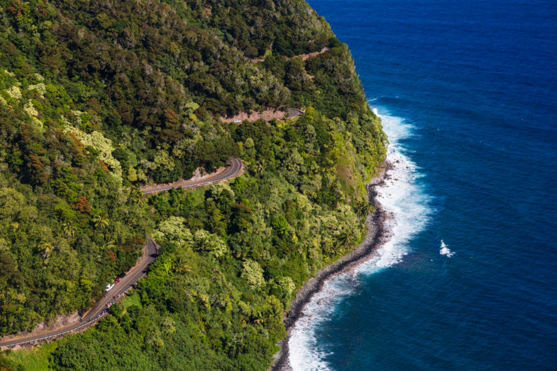 The winding road to Hana