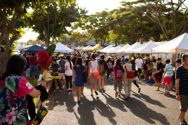 KCC Farmers' Market: Hawaii Travel. Things to do in Oahu. Things to do in Hawaii.