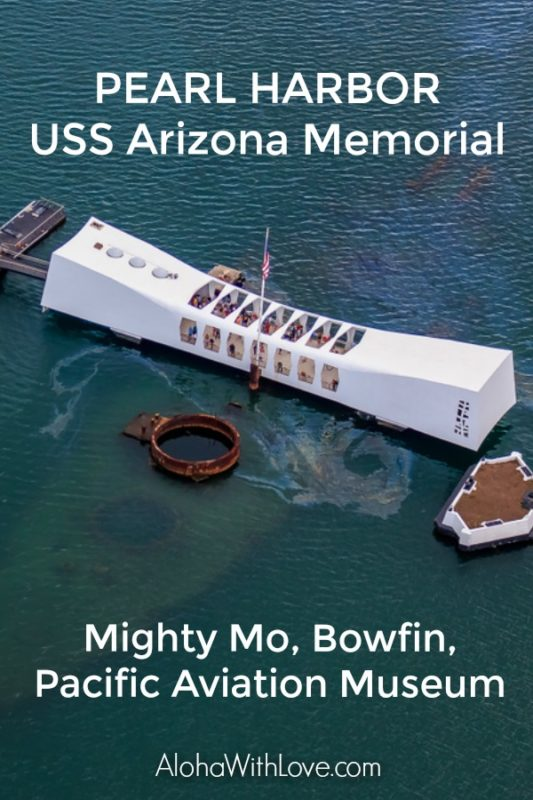 How to get Free Access into Pearl Harbor and the Arizona Memorial and everything you need to know about the Might Mo, USS Bowfin and Pacific Aviation Museum tours.