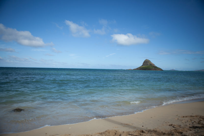 Mokolii island is more commonly known as Chinaman's Hat.