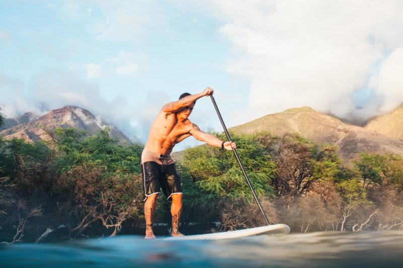 SUP your way around Hawaii's shorelines.