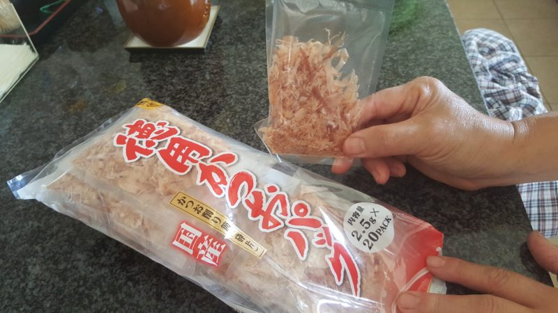 Katsuo flakes are great for nishime sauce.