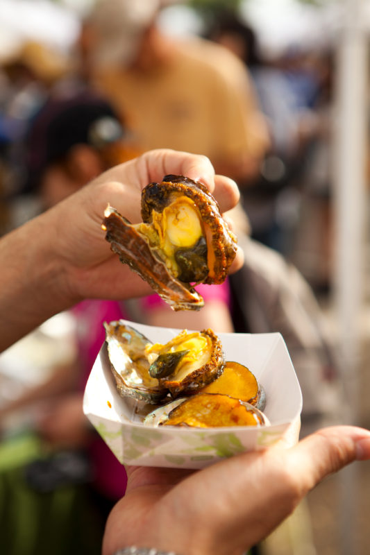 Abalone is not just a famous Big Island food, it's a tasty worldwide food, too!