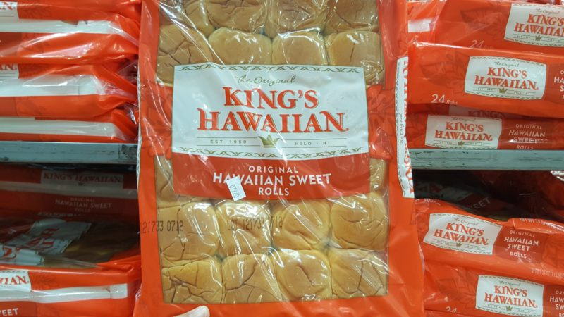 King's Hawaiian sweet rolls are great for sliders.