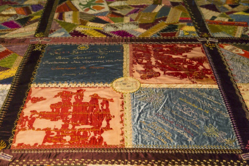 Iolani Palace Quilt