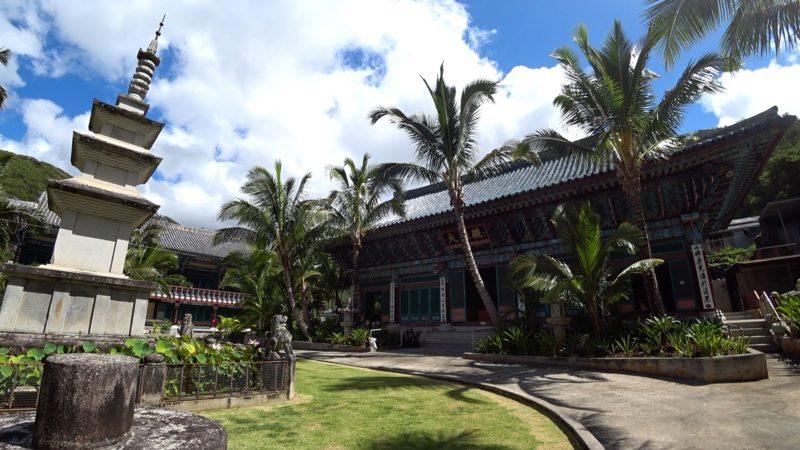 Mu Ryang Sa Buddhist Temple.