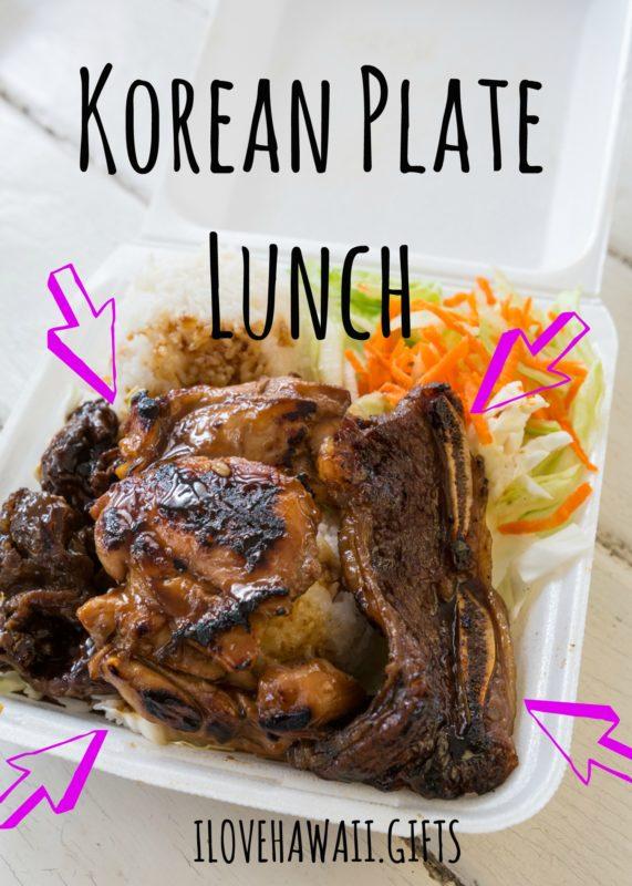 Korean Plate Lunch