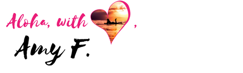 Aloha with love signature