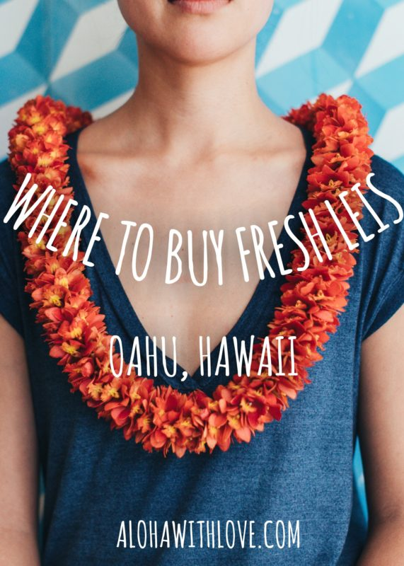 Where to buy fresh leis in Hawaii