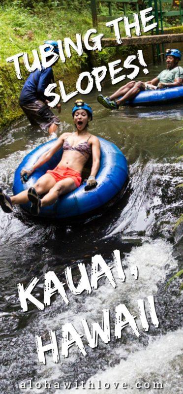 Tubing in Kauai, Hawaii