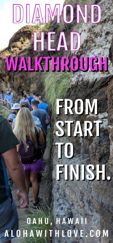 Diamond Head walkthrough