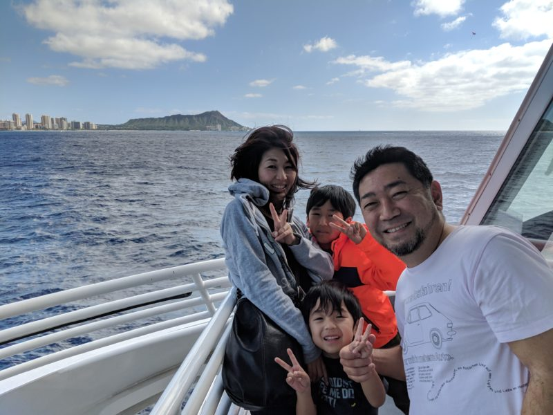 The Majestic whale watch cruise in Oahu, Hawaii