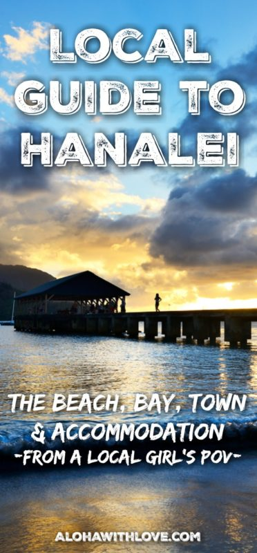 Hanalei beach is a magical place with a quaint town, beautiful views and a beautiful beach. Here's a local guide by a local Hawaii girl.