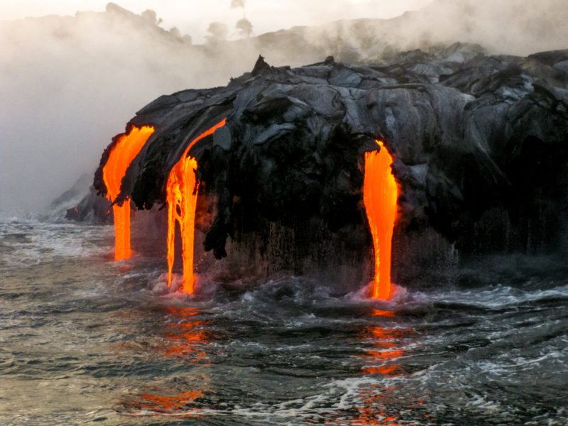 Big Island volcano tours are still open for business.