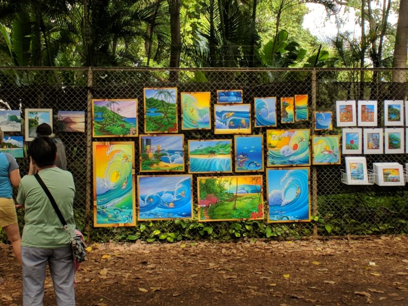 150 Things To Do On Oahu - Art on a Fence