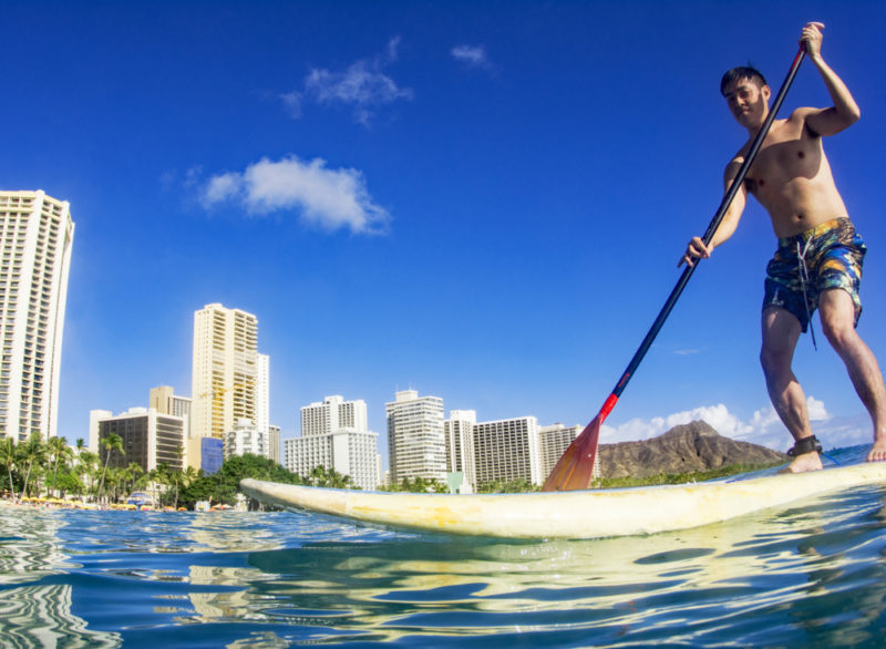 200 Things To Do On Oahu - Learn to stand up paddle board
