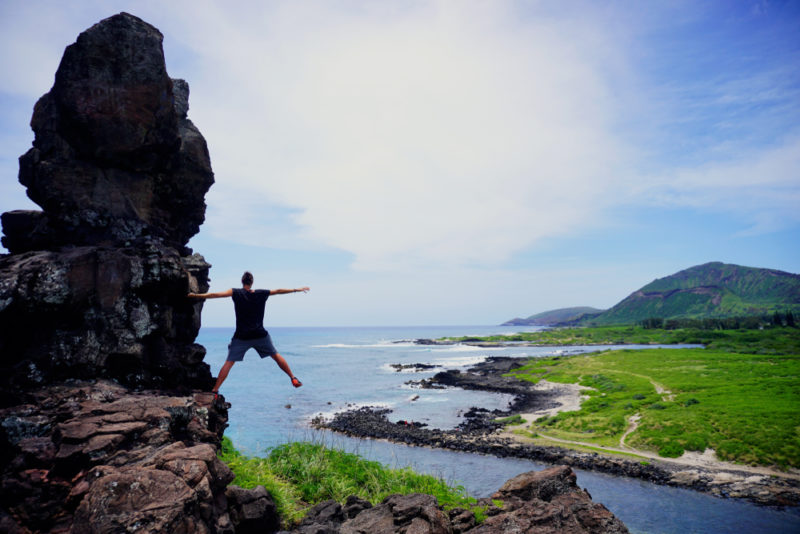 150 Things To Do On Oahu - See Pele's chair.
