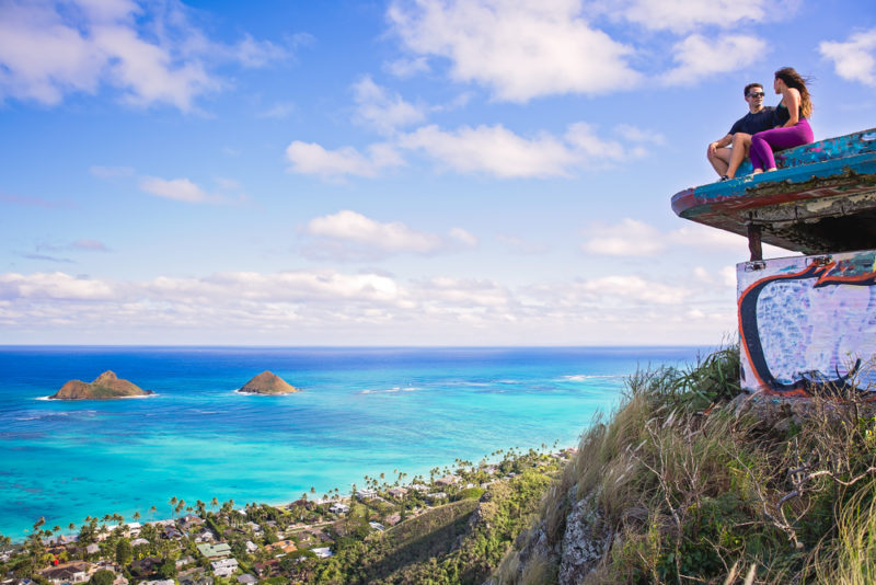 150 Things To Do On Oahu - Climb to the Lanikai pillbox.