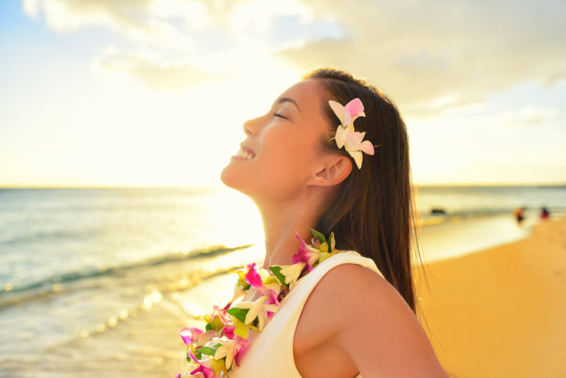 150 Things To Do On Oahu - Wear a lei, give a lei.