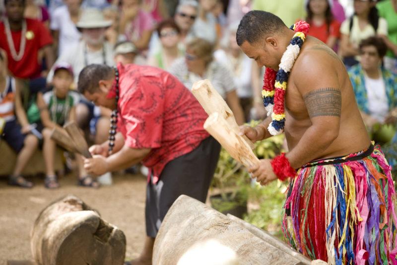 Polynesian Cultural Center Tongan drumming.