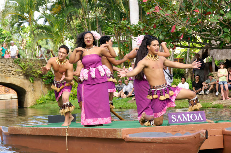 Polynesian Cultural Center Afternoon Show.