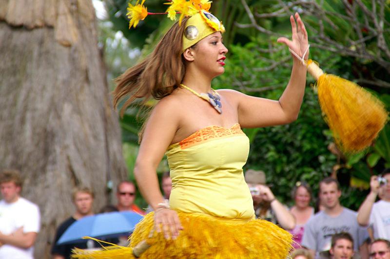 Polynesian Cultural Center Tahitian dancing.