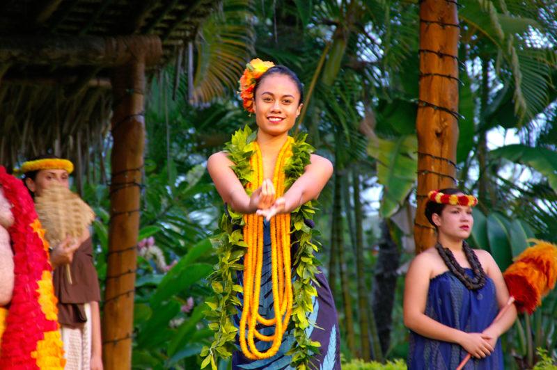 Polynesian Cultural Center hula dancing.