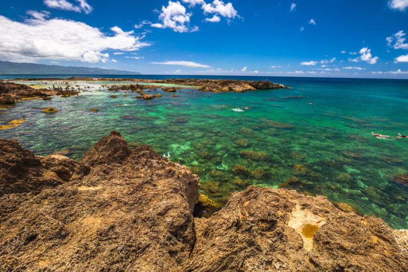 150 Things To Do On Oahu - Snorkel at shark's cove.