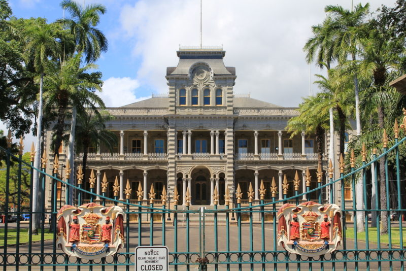 150 Things To Do On Oahu - Iolani Palace