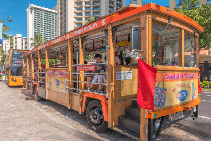 150 Things To Do On Oahu - Waikiki trolley