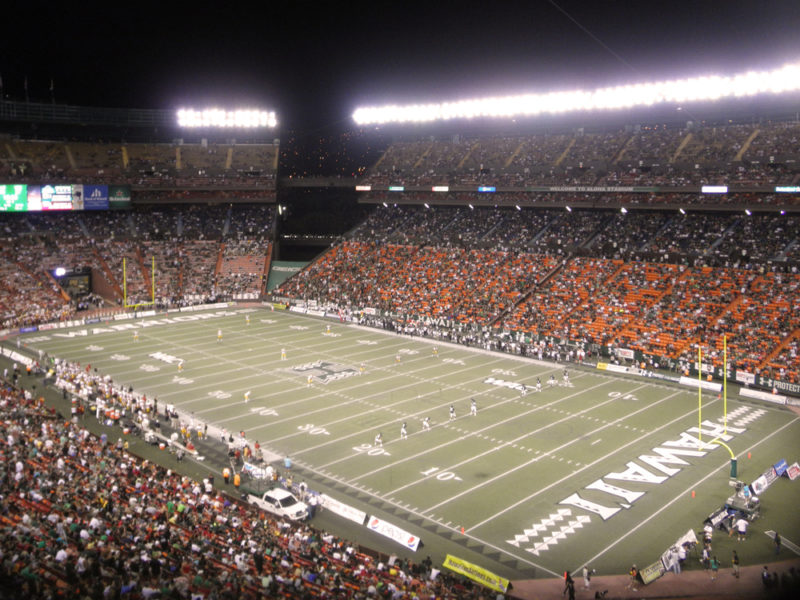 150 Things To Do On Oahu - University of Hawaii game