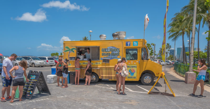 150 Things To Do On Oahu - Food truck
