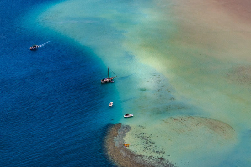 150 Things To Do On Oahu - Kaneohe bay sandbar