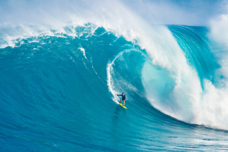 Why you shouldn't visit Hawaii in June - you'll miss the big winter waves.
