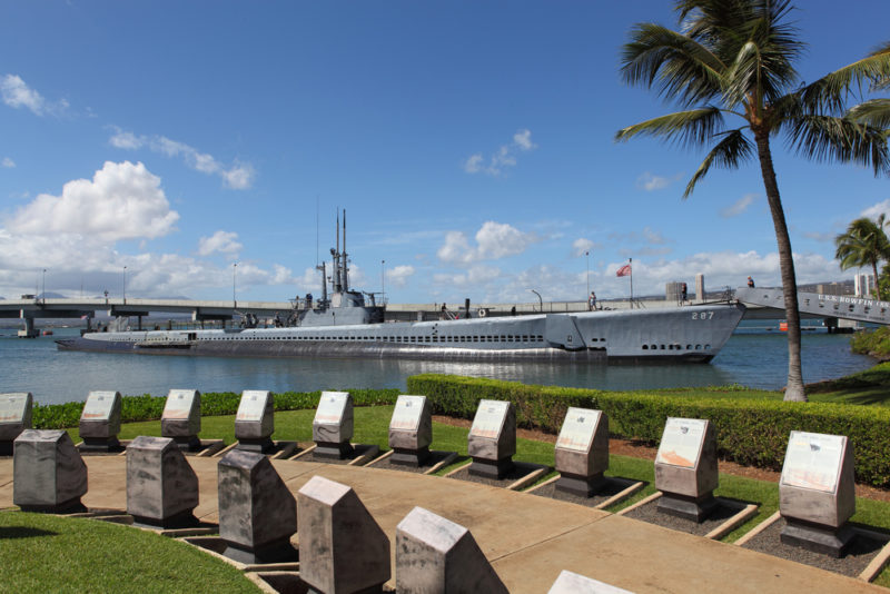 Pearl Harbor tickets are free.