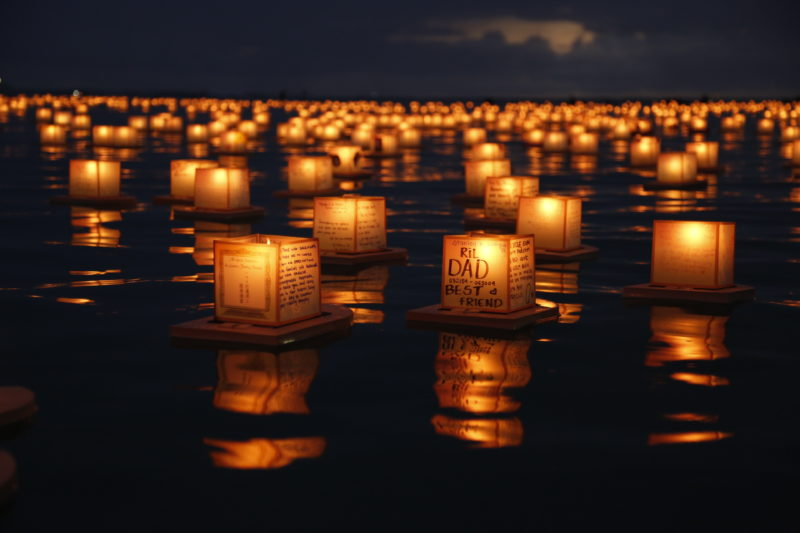 Why you'll cry at Hawaii's lantern floating ceremony.