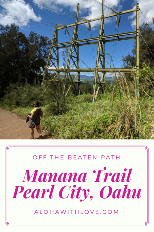 Manana trail in Oahu, Hawaii is a great family-friendly hike that is off the beaten path and isn't too strenuous. There are gorgeous mountain views all the way to the top and with each lookout, the landscape just gets prettier! - Waimano falls | Waimano falls trail | Waimano falls Oahu | Oahu hikes | Oahu hiking | Oahu hiking trails | Oahu hikes with kids | Oahu hikes bucket lists | Aloha With Love