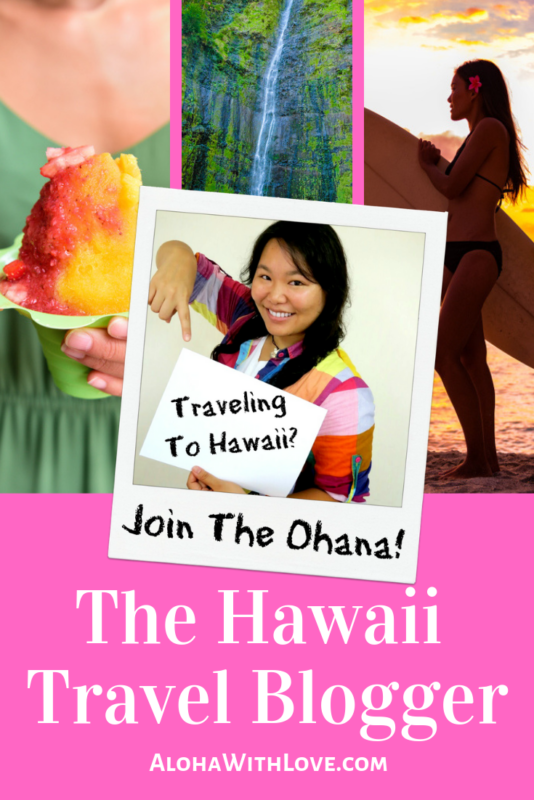 Aloha! If you're traveling to Hawaii, let me help you make the best Hawaii vacation ever. As a local girl who has grown up on these islands, I love to help visitors make the most of their trip whether it's their 1st time or 50th time!