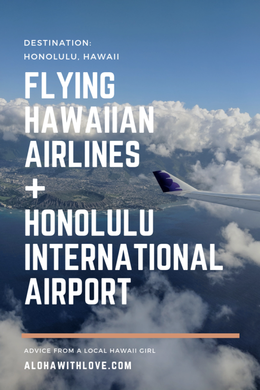 Flying into Hawaii on a domestic flight? Need to know more about Honolulu International Airport? Bought your plane ticket with Hawaiian Airlines? Here's everything that you need to know from a frequent island hopper, Hawaiian Miles MasterCard owner, former airport lei greeter and local Hawaii girl. - HNL Hawaii | HNL airport | Honolulu airport | Honolulu airport tips | Honolulu airport food | Honolulu airport Oahu | Honolulu airport Hawaii | Aloha With Love