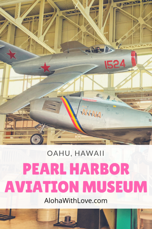 If you're headed to Oahu, Hawaii and adore planes, helicopters and aircraft history, the Pearl Harbor Aviation Museum is calling out to you. Here's a guide from a local girl from Hawaii! - Pearl Harbor Aviation Museum | Pacific Aviation Museum | Oahu tours | Oahu activities | Oahu adventure | Oahu museum | plane museum | WWII museum | Aloha With Love