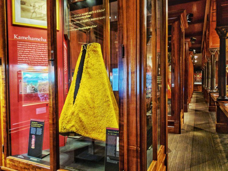 A feather cape belonging to Kamehameha I | Bernice Pauahi Bishop Museum