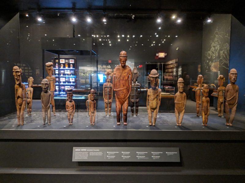 Wooden figures from Rapa Nui | Bernice Pauahi Bishop Museum
