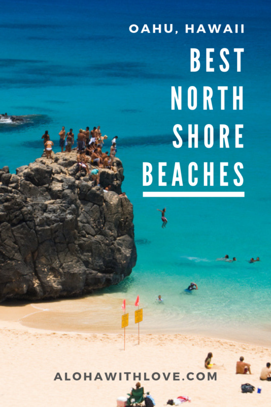 Here\'s my local guide on the best beaches in Oahu\'s North Shore for families. Family beaches are great because there are so many things to do, the view is beautiful and the sand and ocean is so clean. Hope this helps you plan an excellent beach day at Oahu\'s North Shore!