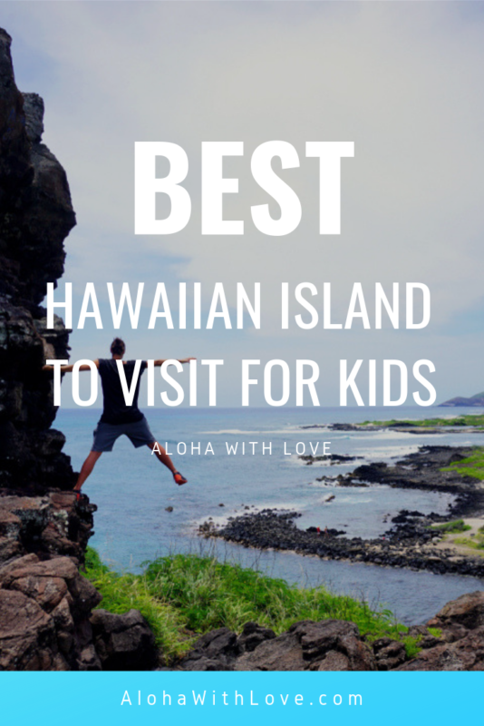 Want to know the best Hawaiian island to visit for kids? Find out what you need to know about each island so that your kids have the time of their lives. Local tips included!