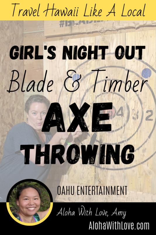 Girls Night Out - Blade & Timber Axe Throwing