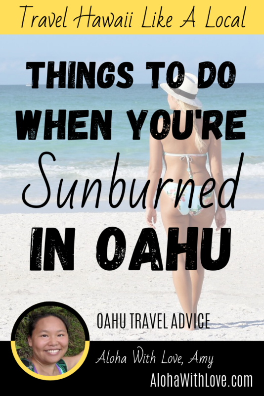 20 Things To Do In Oahu When You're Sunburned