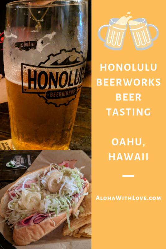 Honolulu beerworks beer and food