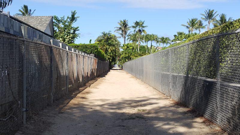 Kailuana beach access.