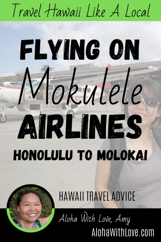 Flying Honolulu To Molokai On Mokulele Airlines