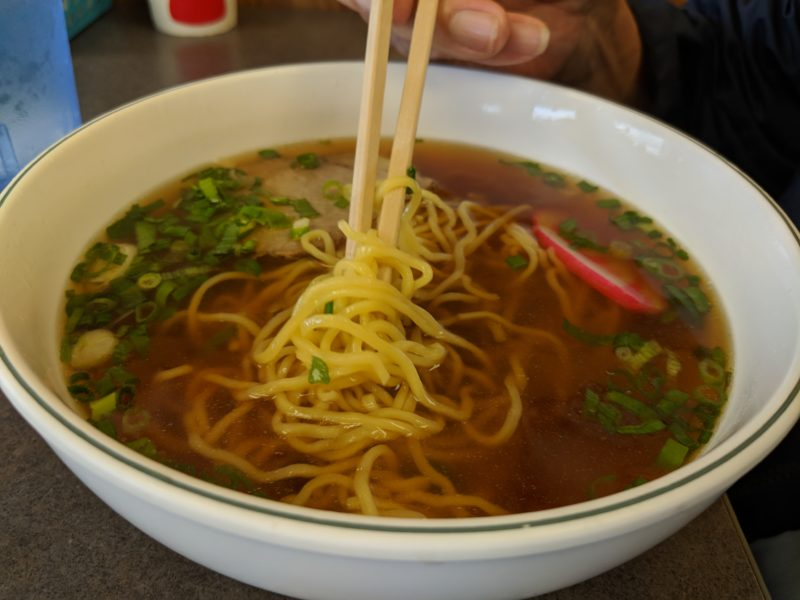 Ezogiku Noodle Cafe ramen.